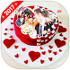 Photo On Anniversary Cake by Roy Developer