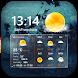 Transparent Clock & Weather by Weather Widget Theme Dev Team