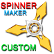 Custom Fidget Hand Spinner Maker Simulator by Dreamonauts : Funny and Cute Pet Games