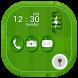 Green Leaf Go Locker Theme by Farabi