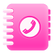 Pink Dialer Contact app free by Mega Tech Apps