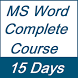 Learn MS Word Full Course in 15 Days by YouAreAwesome