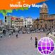 La Paz Street Map by Dubbele.com