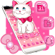 Pink Kitty Cute Theme by Cool Theme Love