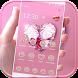 Love Diamond Theme pink gem by DIY Themes 2017 New