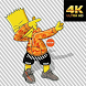 Bart Wallpaper by Korn Games