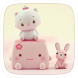 Pink Cute Theme by Heartful Theme