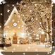 2017 Christmas snow night live wallpaper