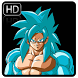 Super Saiyan Blue Live Wallpaper by SKATEN STUDIO