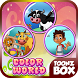 Coloring Games - Color World by ToonZBox Entertainment