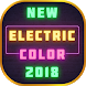 New electric color keyboard 2018 by BestSuperThemes