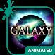 Galaxy Animated Keyboard by Wave Design Studio