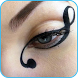 Eye MakeUp Step By Step liner by zero graphics
