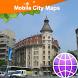 Bucuresti Street Map by Dubbele.com