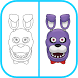 How to Draw FNAF Bonnie by Learn How to Draw for Kids