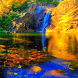 Yellow Mountain Waterfall LWP by Daksh Apps