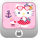 Hello Kitty Summer Screen Lock by S-One