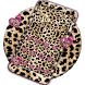 Pink Gold leopard Cheetah Tema by Leopard Print Themes