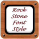 Rock Stone Font Style by Top Phone Font Style