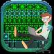 Hacker Green Keys Keyboard by creativekeyboards