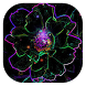 Neon flower live wallpaper by Gopastido