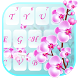 Orchid Flowers Lovely Keyboard Theme by Fancy Keyboard for Android Apps