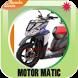 Gambar Modifikasi Motor Matic by Bunda Airin