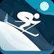Whistler's Run - Alpine Skier by Kelley Designs LLC