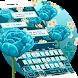 Blue Rose Keyboard Theme