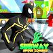Subway Black Spider - Strange Hero Runner Rush by Azka Mini Studio