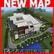 Modern Mansion MCPE map by Leann