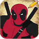 How to Draw Deadpool Characters by Easy Drawing Tutorials 2017