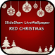 Red Christmas Slideshow Livewallpaper by Galaxy App World