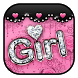 Pink Rose Lace Theme by Cool Theme Love