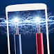 Electric shock screen joke by Rich apps and games