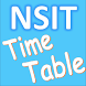 NSIT Time Table by Code Tract