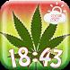 Cannabis Weather Clock Widget by Fun Apps & Games KS