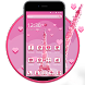 Pink Paris Eiffel Tower 2D theme & Wallpaper by Happy themes & wallpapers :)