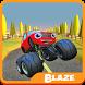 Blaze Monster Truck Race by Ed B-Box