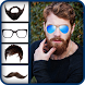 Man Hair and Beard Style 2017 by Vitro Graphics