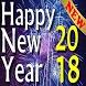 Happy New Year 2018 by Dunklen studio