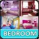 Stylish Girly Bedroom by Tekca.inc