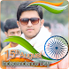 India Flag Face Photo Maker & 15th August DP by Media Dimond