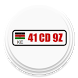 Kenya Diplomatic Car Codes by Barakissa Tien-Wahser