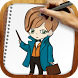 Draw Fantastic Beasts by Watercolor Games