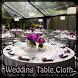 Wedding Table Cloth by dan baker