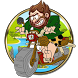 Angry caveman motocross story by GamePop