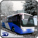 Snow Bus Offroad Hill by Level9 Studios