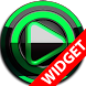 Poweramp widget - BLACK Green by TapaniLab