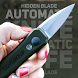 Hidden blade automatic knife by ODVgroup